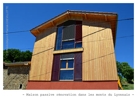 Conception et r alisation de maison passive for Construction maison simulation