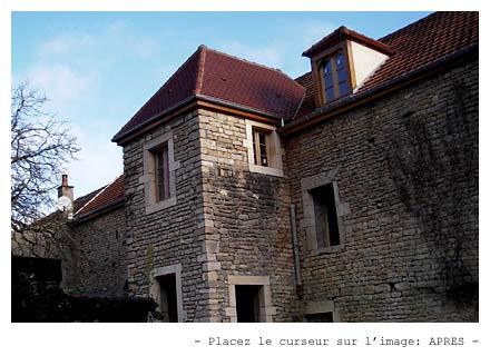 Rnover une maison en pierre excellent rangements entre - Renovation vieille maison pierre ...
