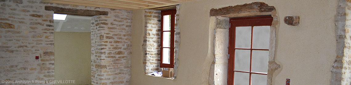 Les enduits de correction thermique chaux chanvre et for Isolation maison en pierre