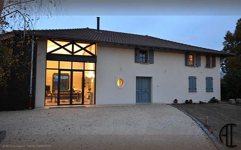 Architecture interieure maison de campagne le havre 33 for Architecture maison de campagne