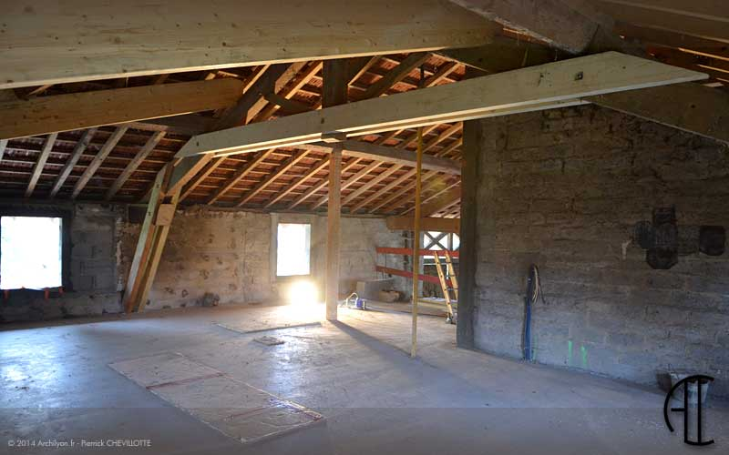 R alisations projets avant apr s travaux - Renovation maison ancienne architecte ...