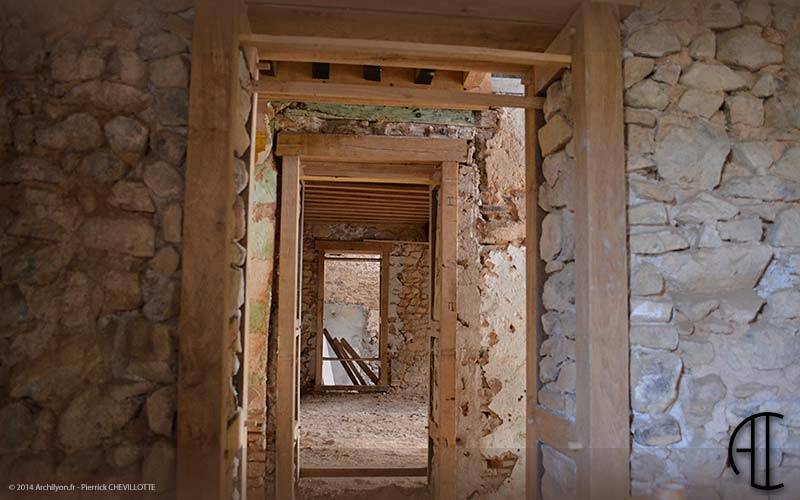 R alisations projets avant apr s travaux - Isolation exterieure mur pierre ...