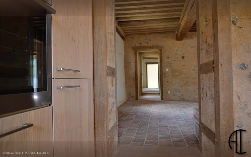 Photo interieur maison pierre - Renovation mur ancien interieur ...