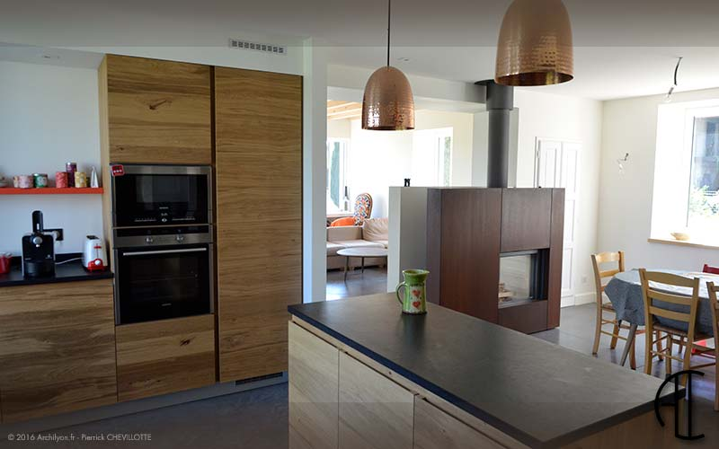 Cuisine sejour meme piece simple on aime le cot atelier for Meubles cot bourg en bresse