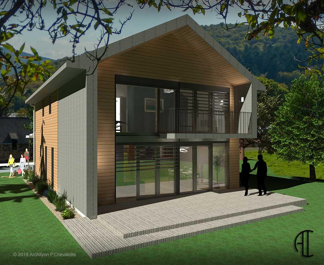 conception et réalisation de maison passive | archilyon.fr