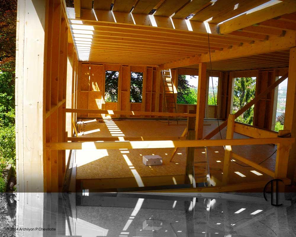 construction bois passive