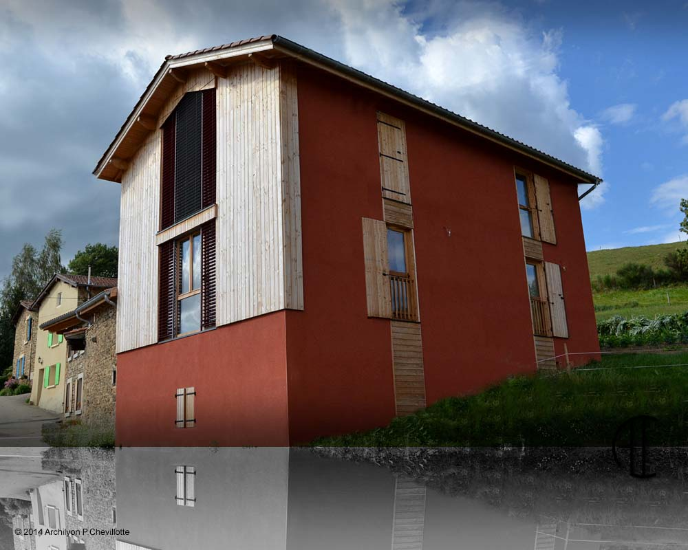 Architecte maison passive rhone alpes for Alpes archi