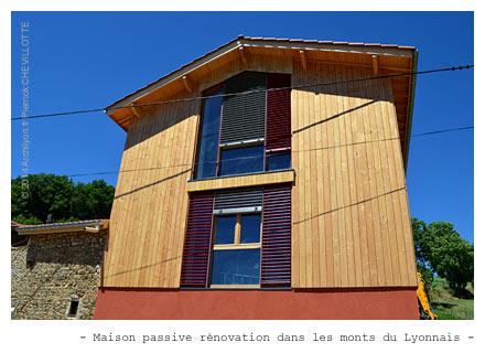 Conception et r alisation de maison passive for Modele maison passive
