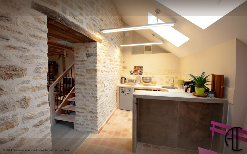 Architecture d 39 int rieure en r gion lyonnaise - Idee renovation maison ancienne ...