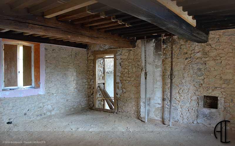 drainage interieur maison ancienne ventana blog. Black Bedroom Furniture Sets. Home Design Ideas